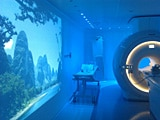 MRI examination room with Ambient Experience
