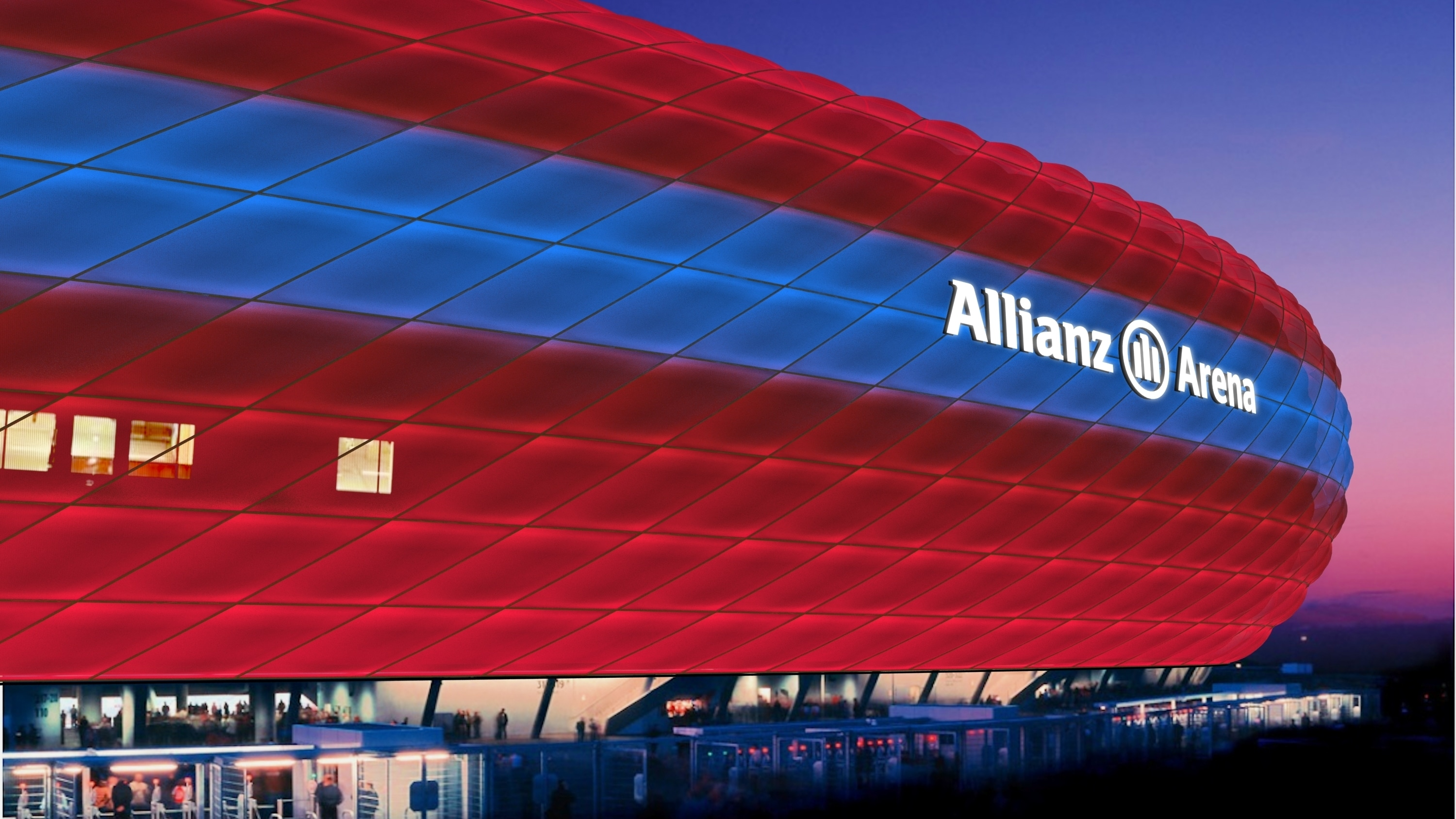 Philips becomes official lighting partner for FC Bayern Munich and its home stadium Allianz Arena