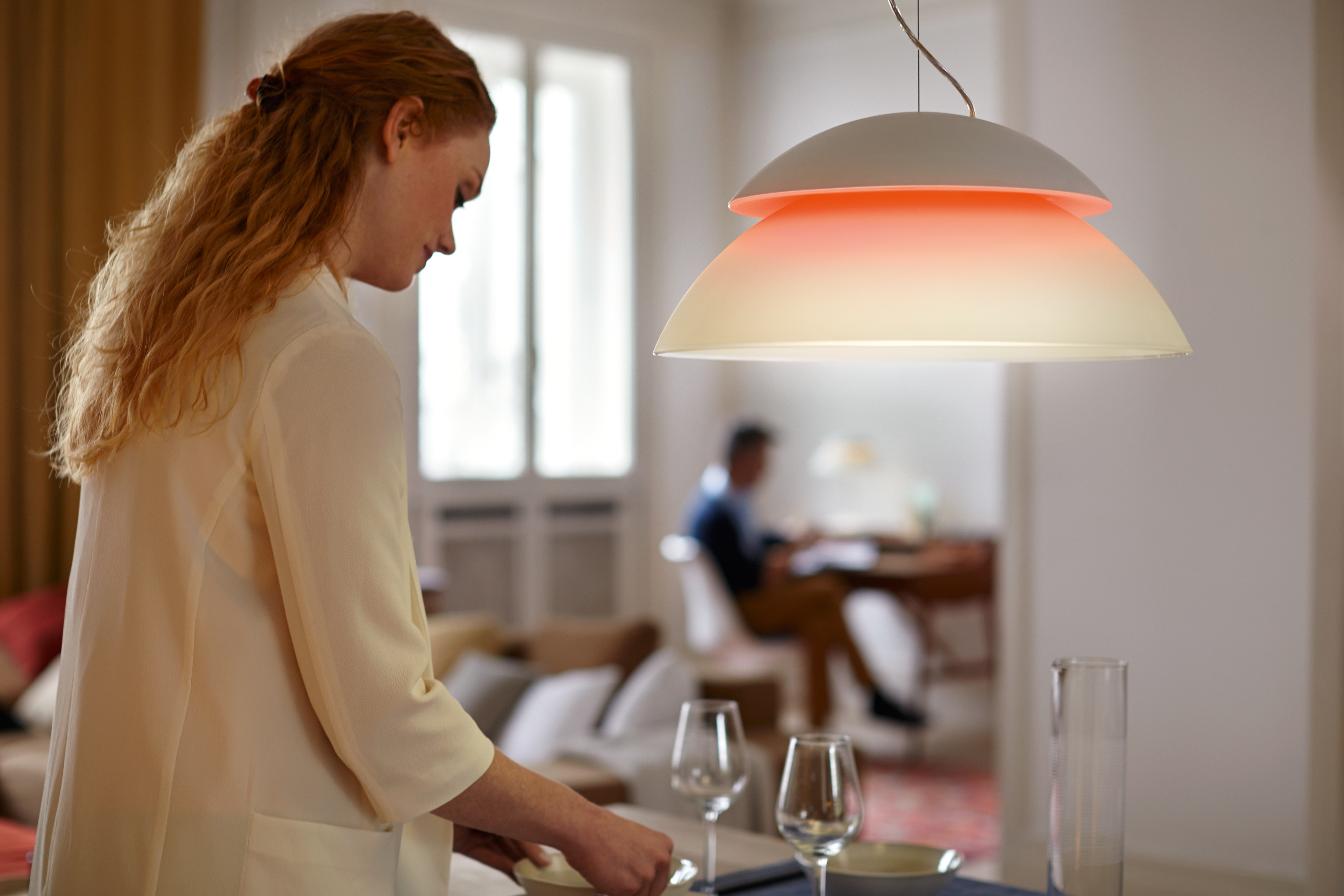 Philips Hue Beyond pendant light & Get the ultimate light experience with the new Philips Hue Beyond azcodes.com