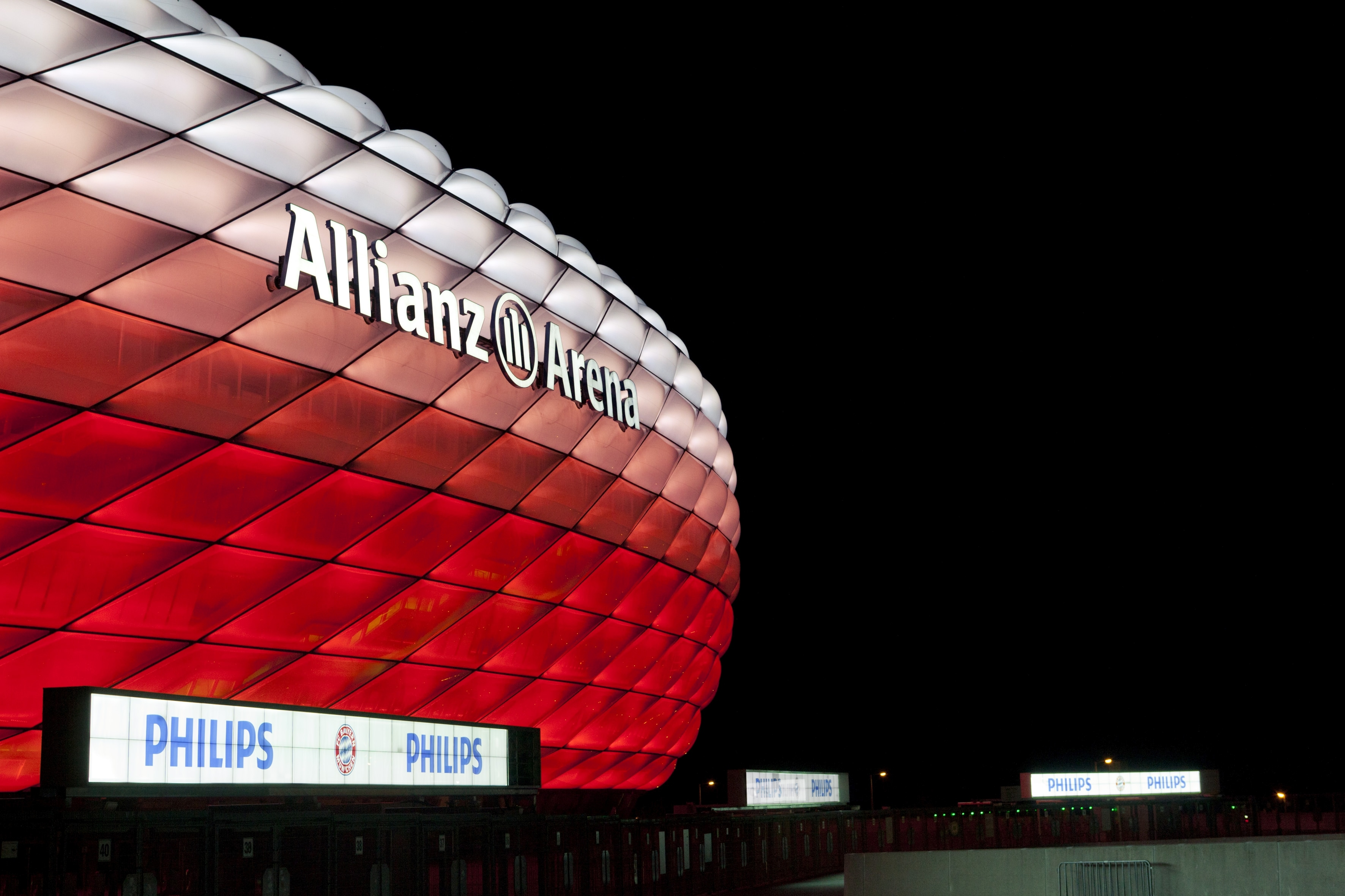 Connected Philips Led Lighting For The Allianz Arena Fc