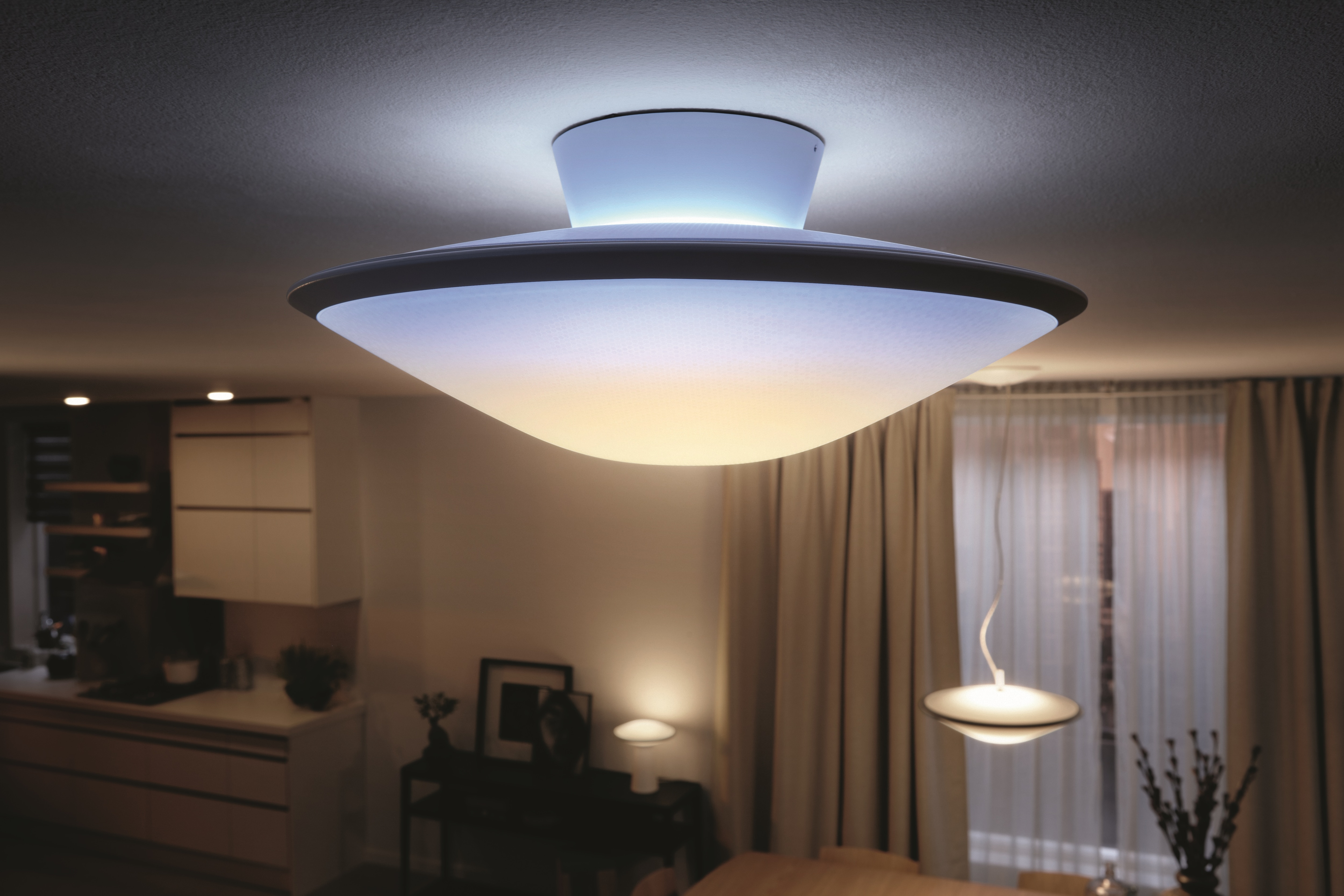 Simple chic and white philips hue phoenix delivers every shade philips hue phoenix aloadofball Images