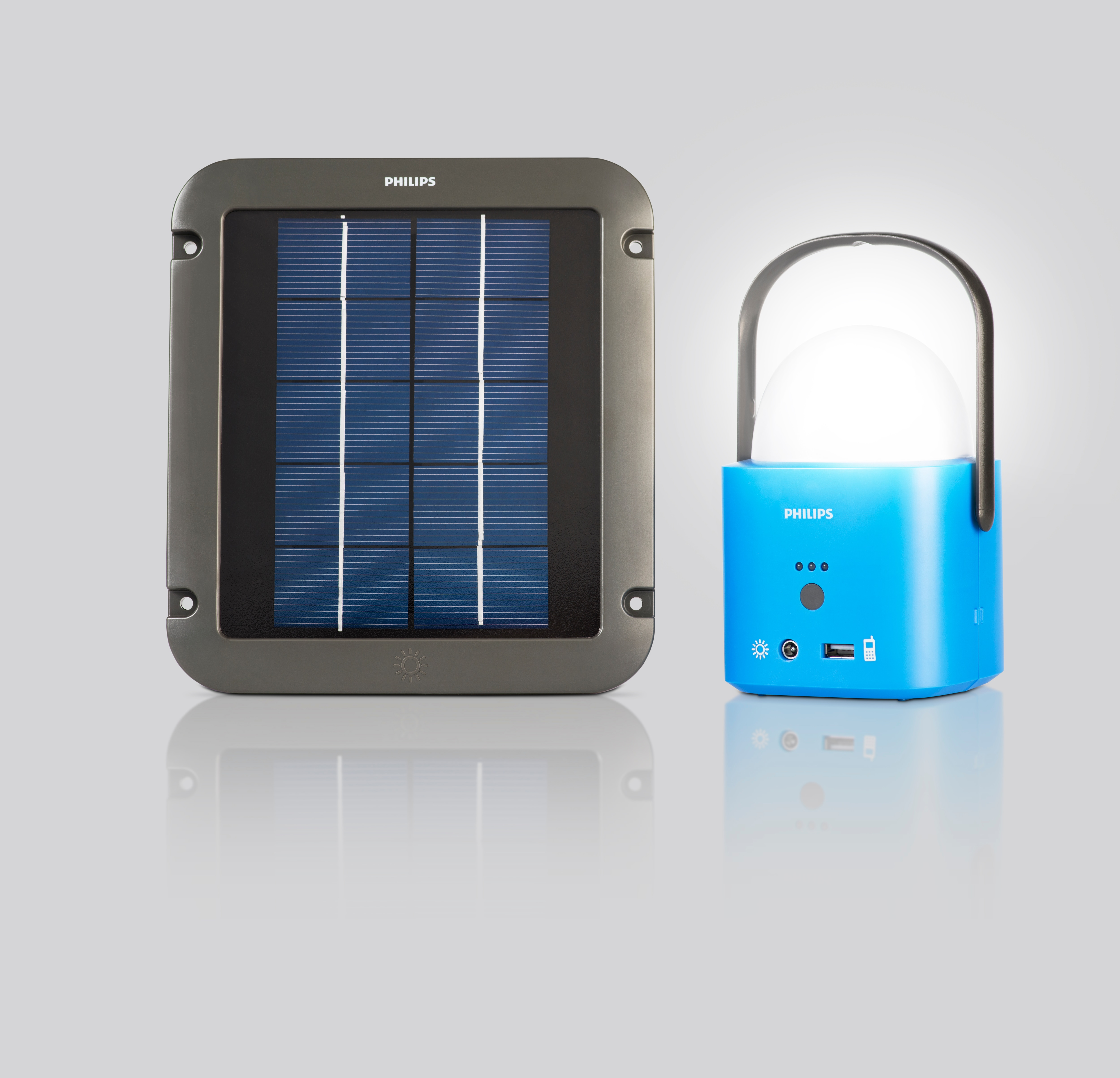 Solar Powered Led Luminaires From Philips Can Brighten The
