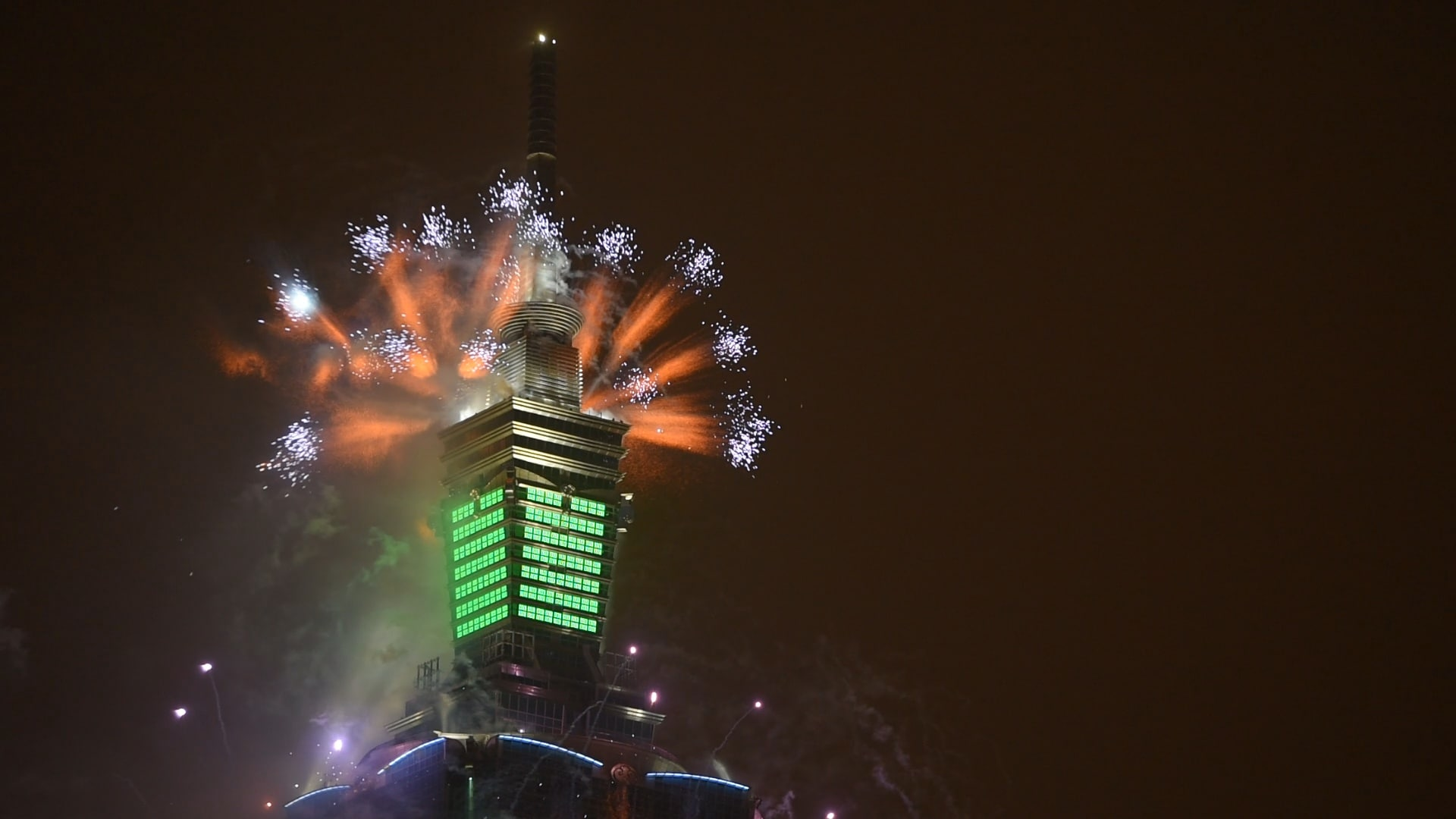 Dazzling lighting renovation for taipei 101 tower with for Taipei tower ball