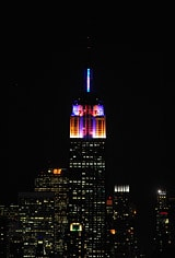 New York, NY: Empire State Building (ESB) selected Philips as its partner to transition the building's iconic tower lights to innovative LEDs