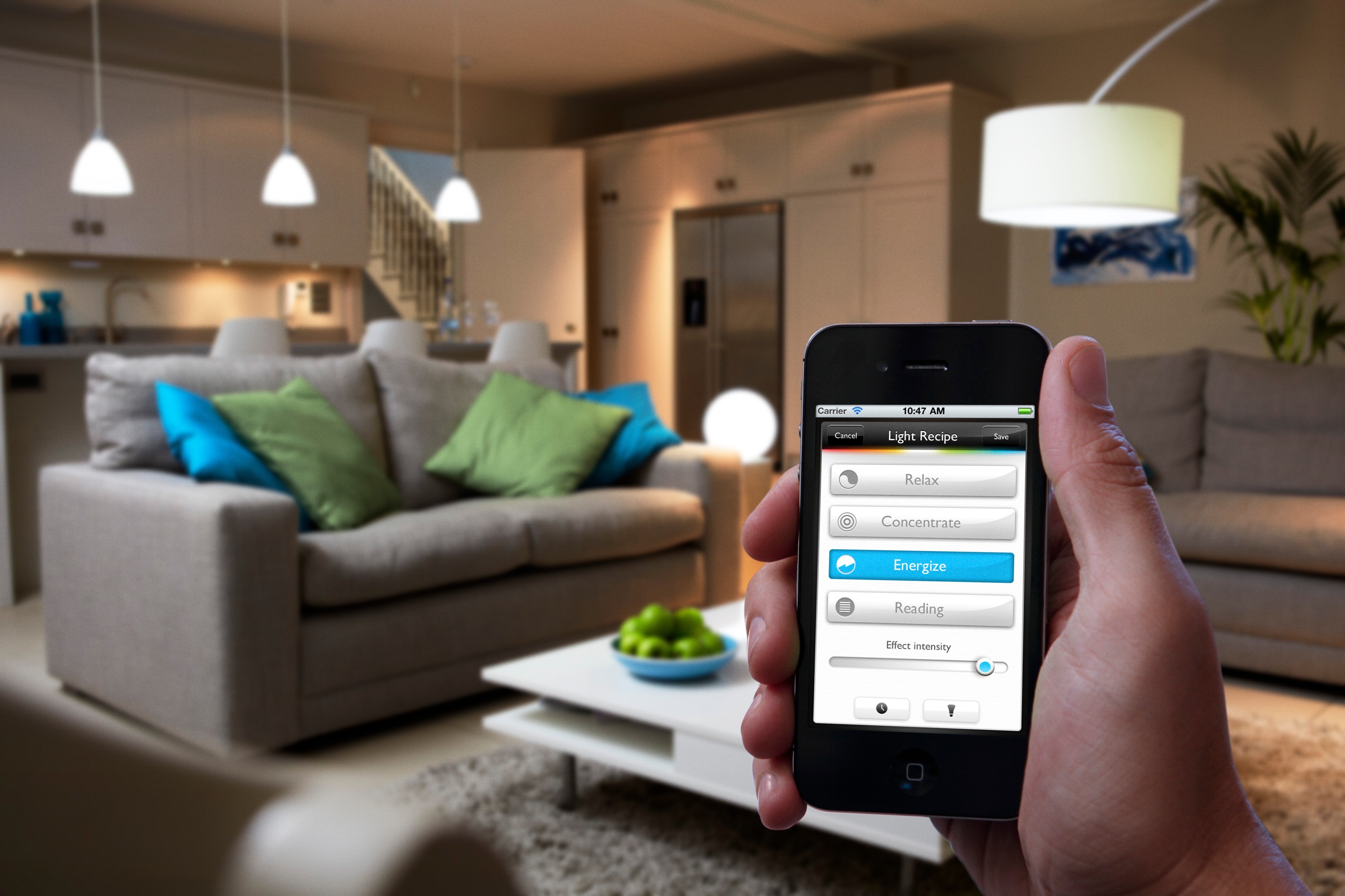 Introducing Philips hue: the world's smartest LED bulb, marking a