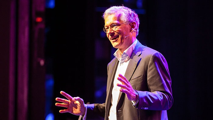 Philips' Frans van Houten keynotes on transformation in healthcare